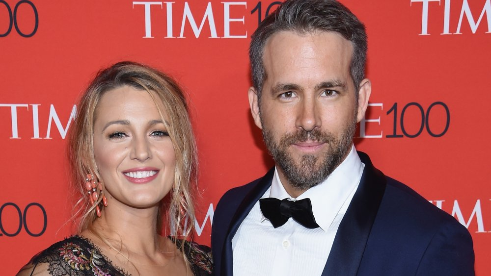 Actors Blake Lively (L) and Ryan Reynolds attend the 2017 Time 100 Gala