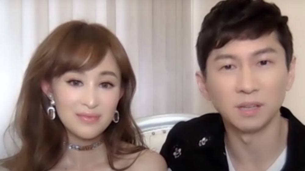 Cherie Chan and Jessey Lee sitting next to each other during an interview