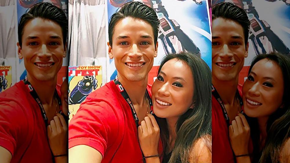 Kelly Mi Li and Andrew Gray take a selfie