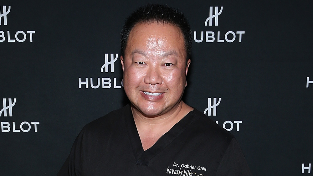 Dr. Gabriel Chiu at a red carpet event