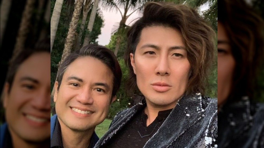 Almar Guevarra and Guy Tang posing for the camera next to one another