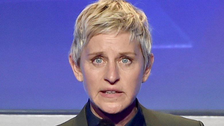 Ellen DeGeneres and Ashton Kutcher