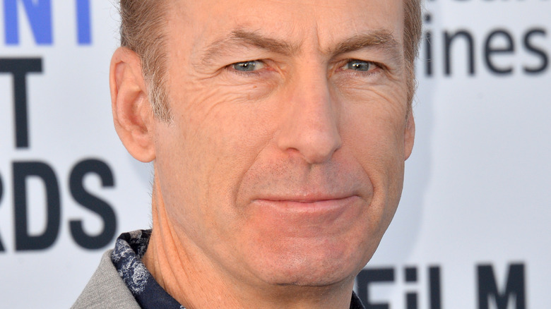 Bob Odenkirk smiling on the red carpet