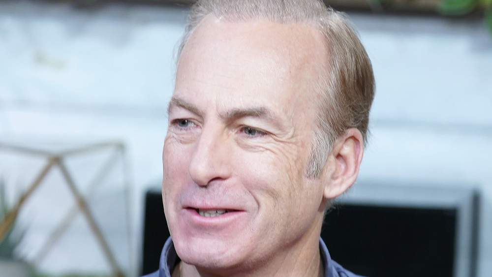 Bob Odenkirk appears during an interview in 2020