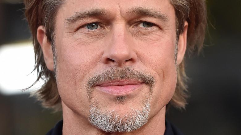 Brad Pitt goatee