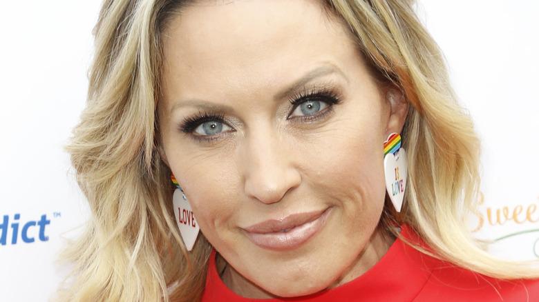 Braunwyn Windham-Burke rainbow earrings