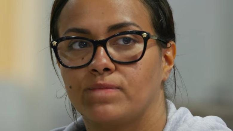 Briana DeJesus wearing glasses