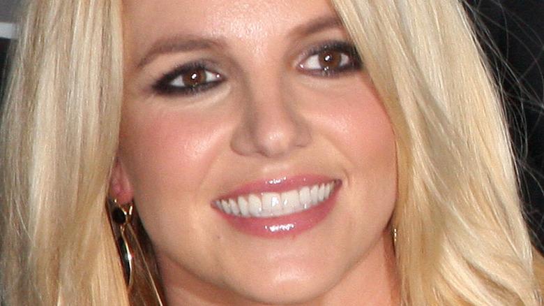 Britney Spears brown eyes