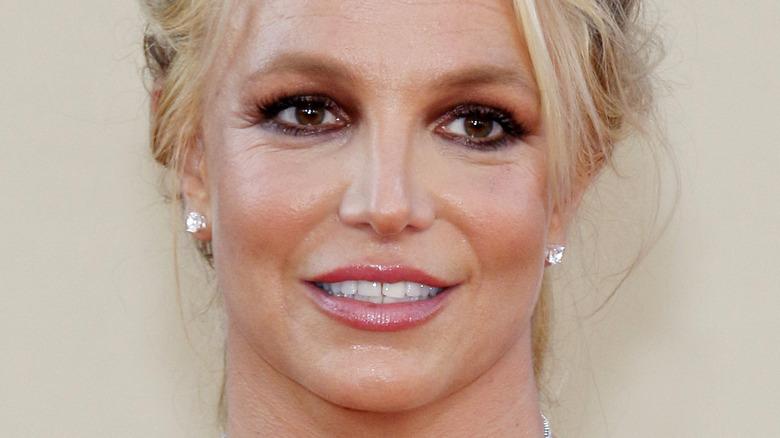 Britney Spears eyeliner
