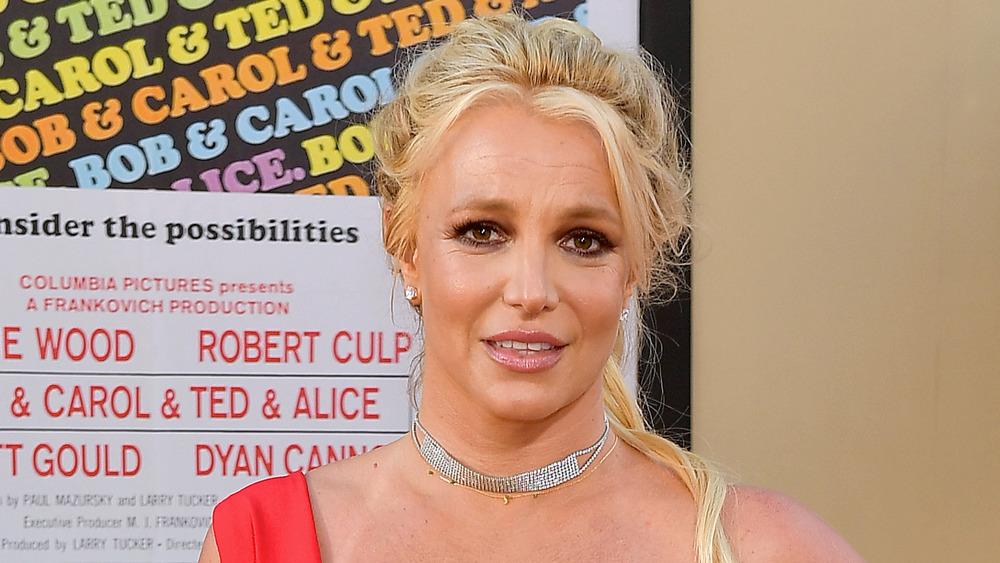 Britney Spears, red carpet