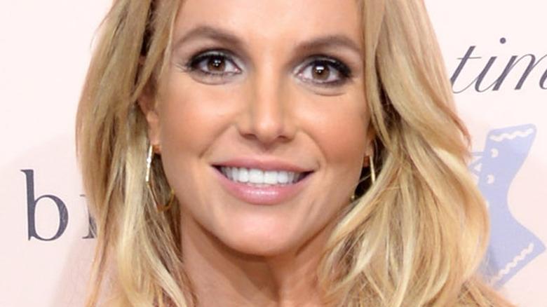 Britney Spears smiling in 2014