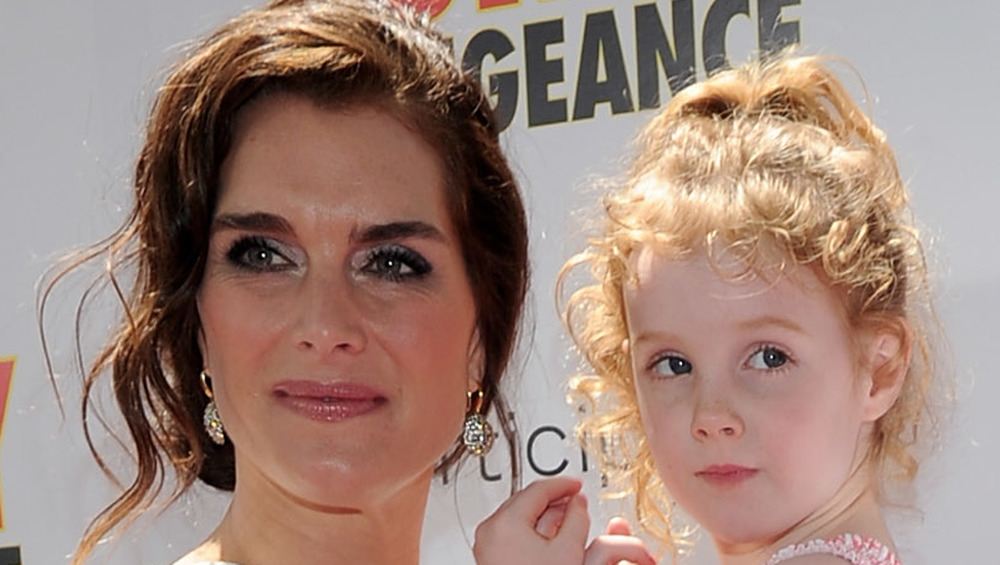 Brooke Shields and daughter Grier on the red carpet in 2010