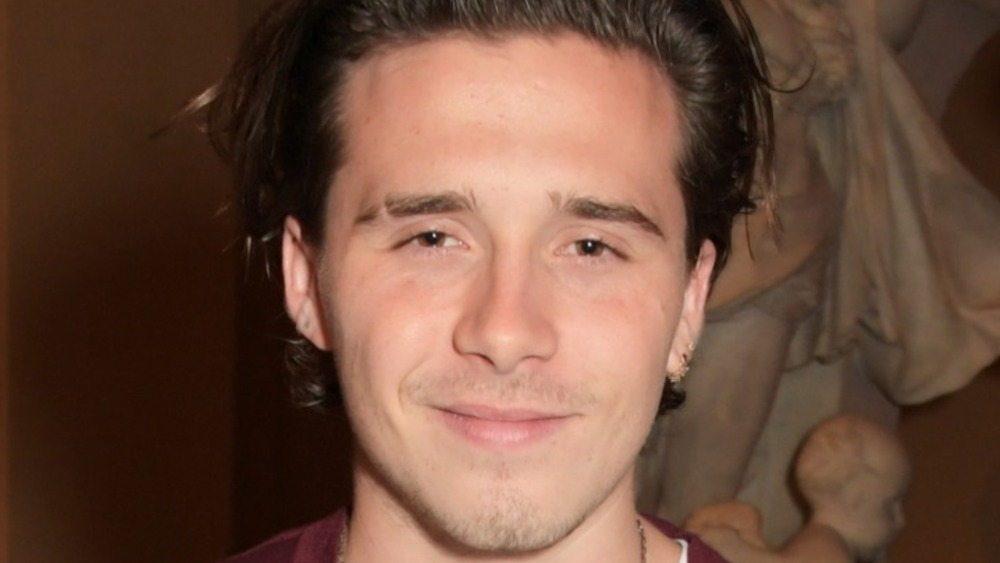 Brooklyn Beckham attends the Tim Walker: Wonderful Things exhibition launch on September 17, 2019