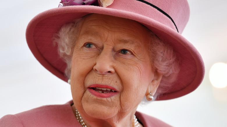 Queen Elizabeth II speaking