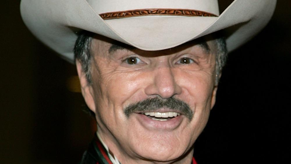 Burt Reynolds smiling