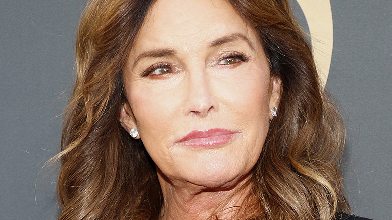 Caitlyn Jenner turning to the side with slight smile