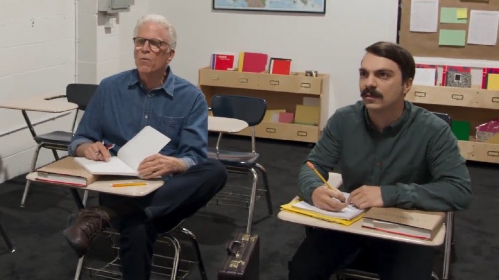 Ted Danson & Kirby Jenner
