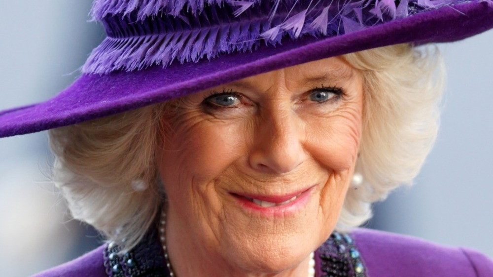 Camilla, Duchess of Cornwall attends the Commonwealth Day Service at Westminster Abbey on March 13, 2017