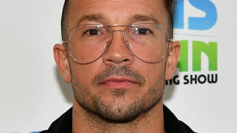 Carl Lentz in oversized pair of glasses
