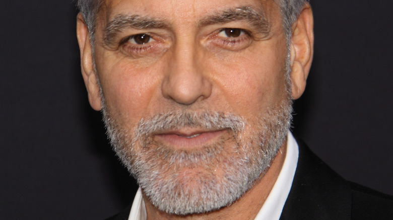 George Clooney on the red carpet