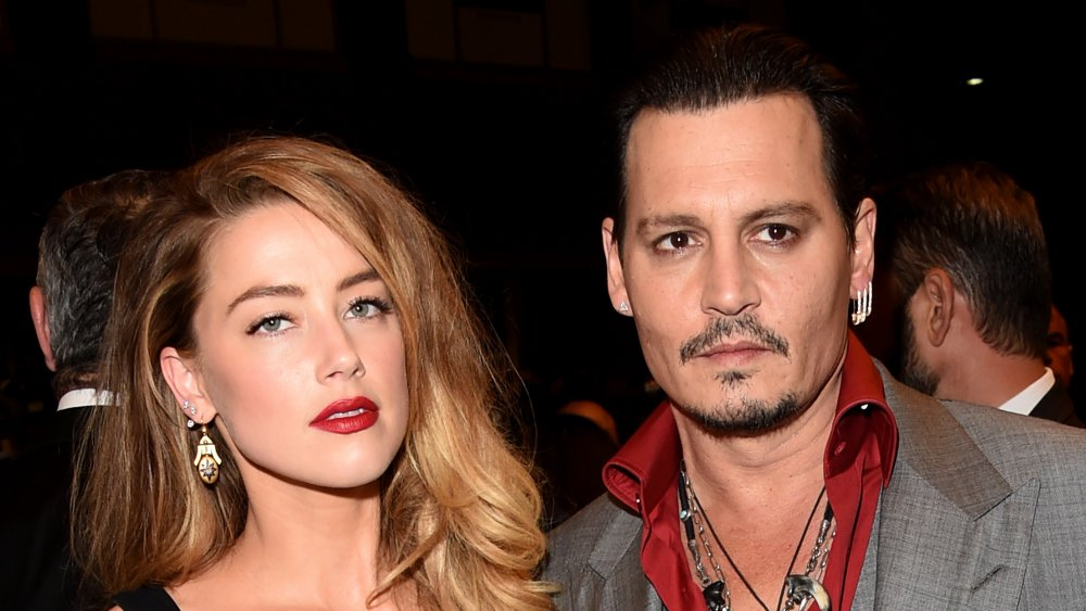Amber Heard and Johnny Depp at the TIFF premiere of Black Mass
