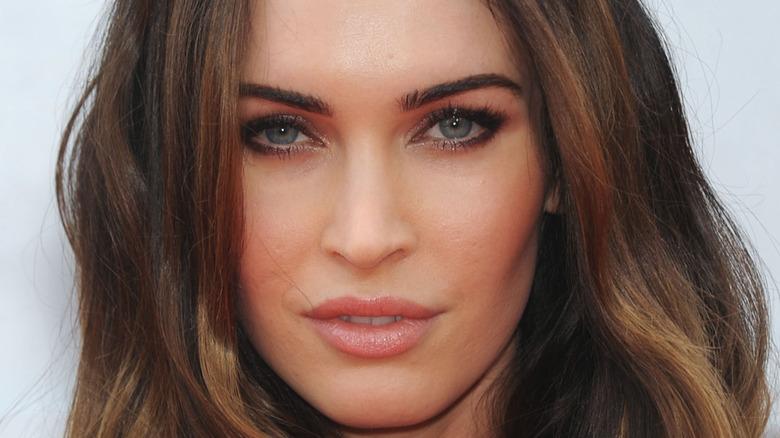 Megan Fox close-up