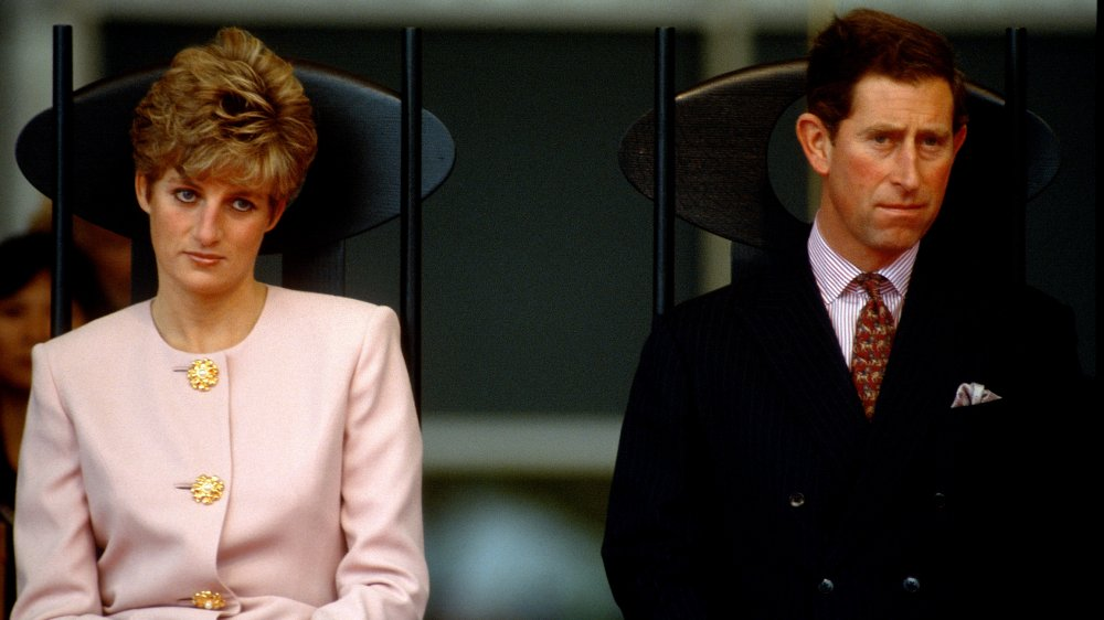 Princess Diana and Prince Charles at a civic welcome ceremony in Nathan Phillips Square in 1991