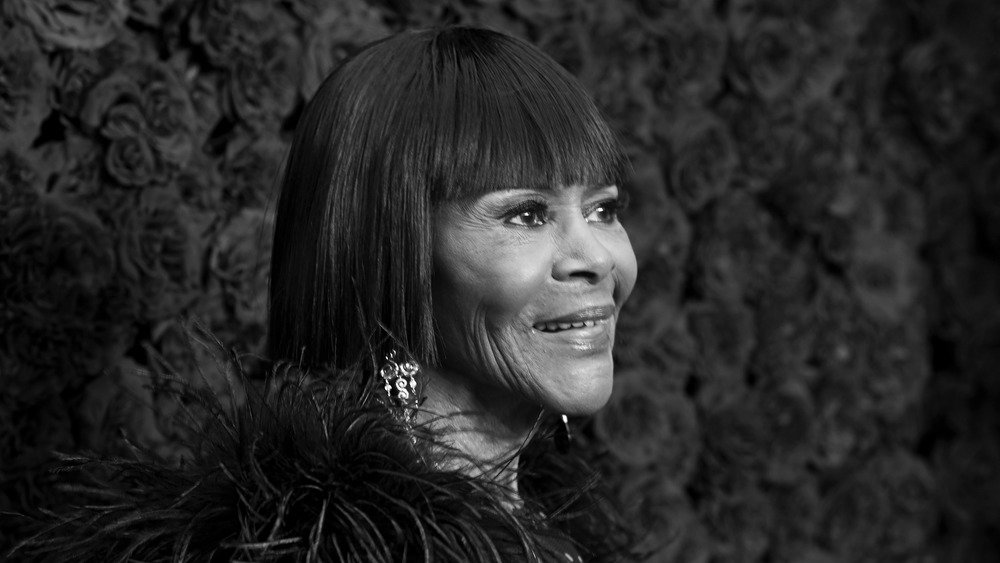 Cicely Tyson on the red carpet