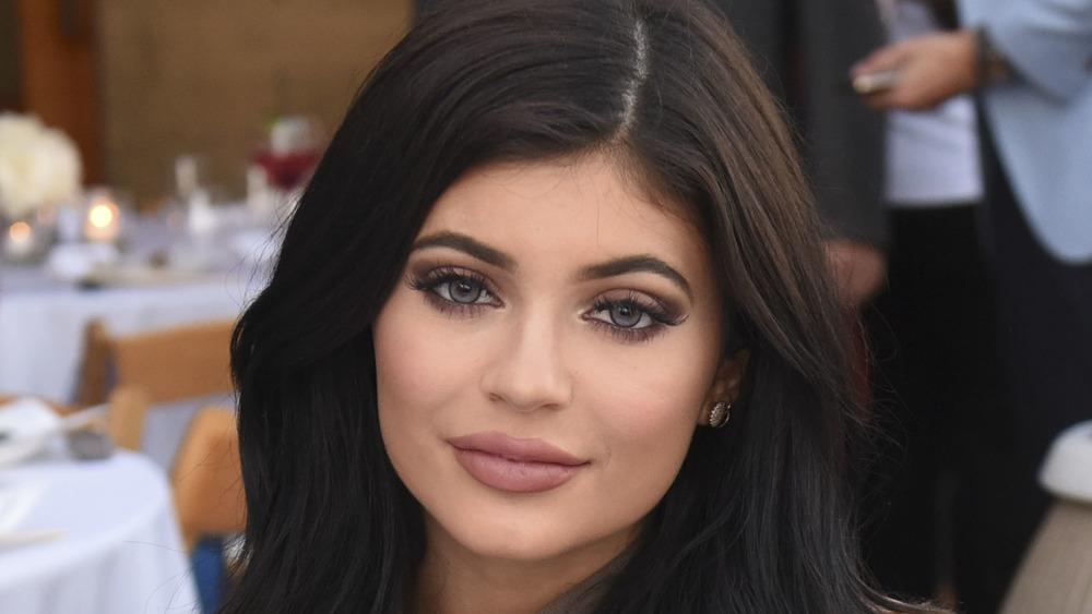 Kylier Jenner looking at camera