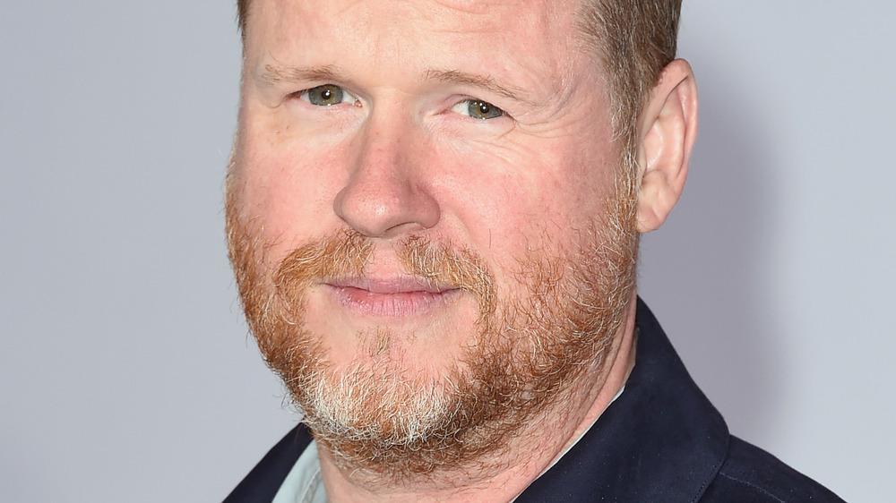 Joss Whedon smirking