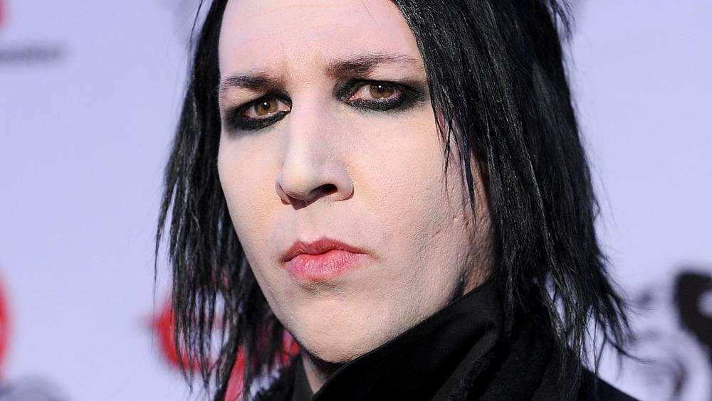 Marilyn Manson at an award show