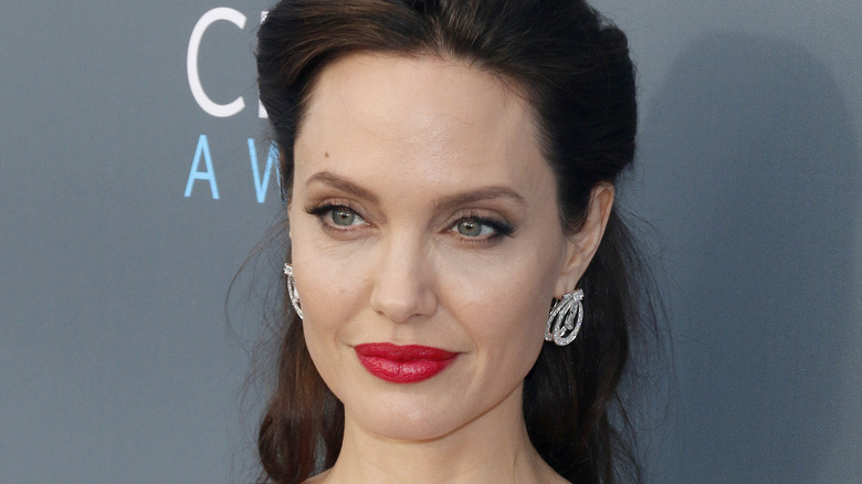 Angelina Jolie at an award show