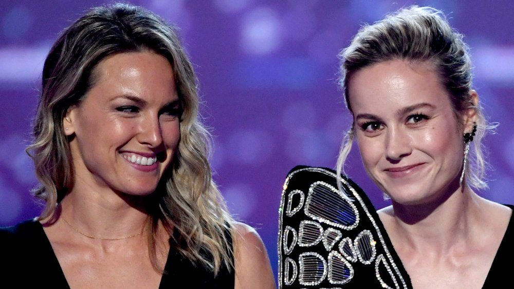 Ingrid Kleinig and Brie Larson at the 2019 MTV Movie and TV Awards