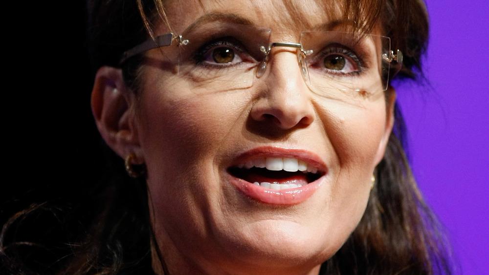 Sarah Palin smiling