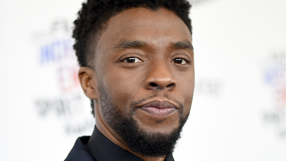 Chadwick Boseman attends the 2018 Film Independent Spirit Awards on March 3, 2018