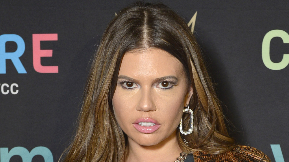 Chanel West Coast shoots a smuldering look into the on the red carpet