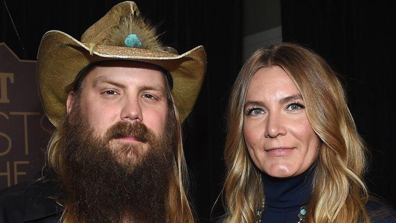 Chris Stapleton and Morgane Stapleton