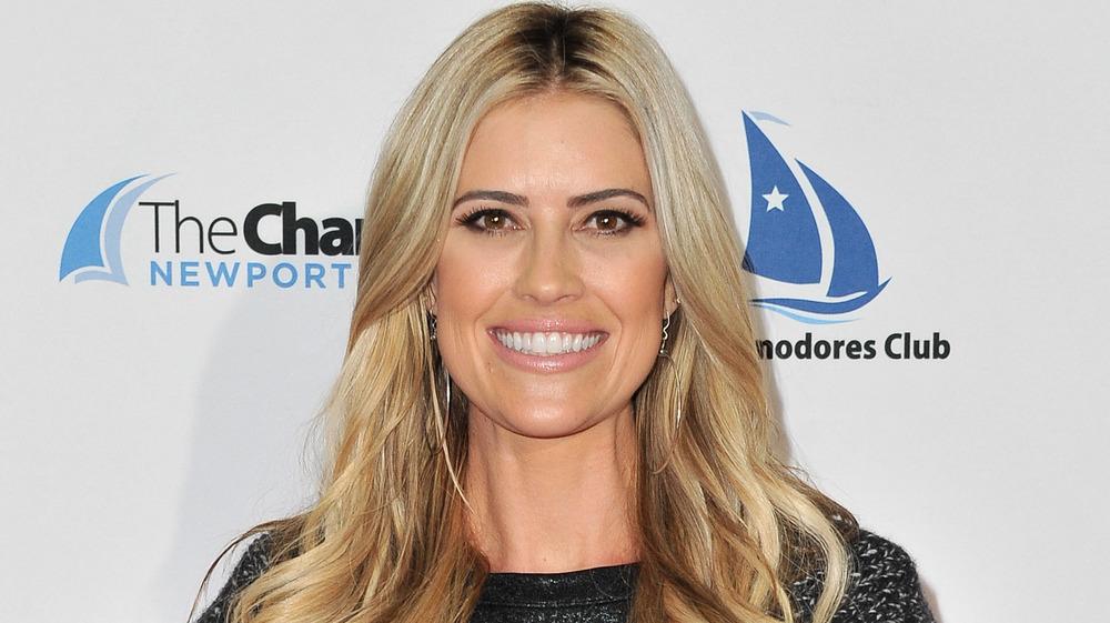 Christina Anstead smiling
