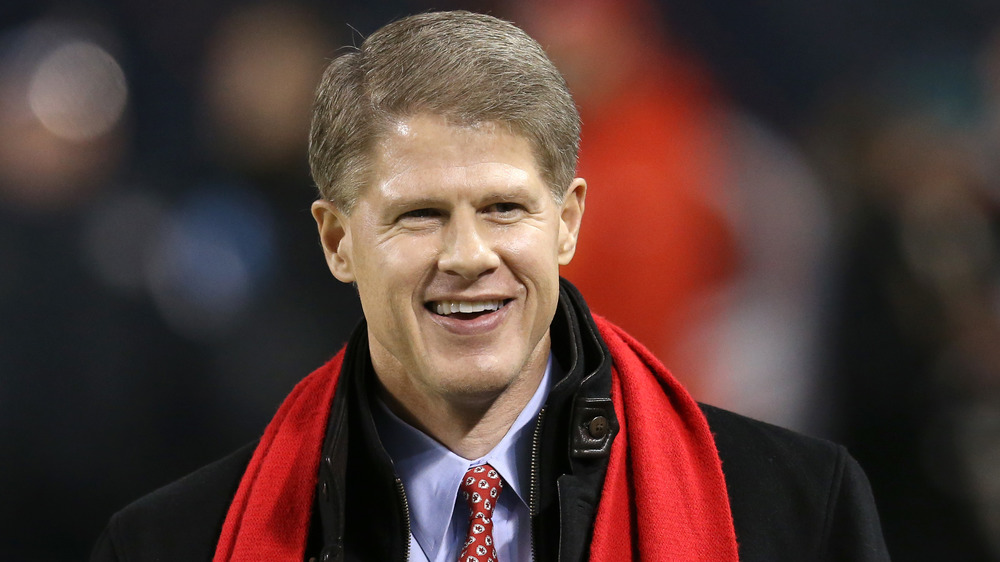Clark Hunt smiling at a football game