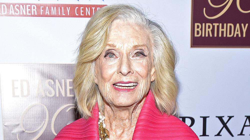 Cloris Leachman attends an event