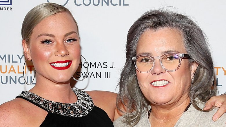 Rosie O'Donnell and Elizabeth Rooney