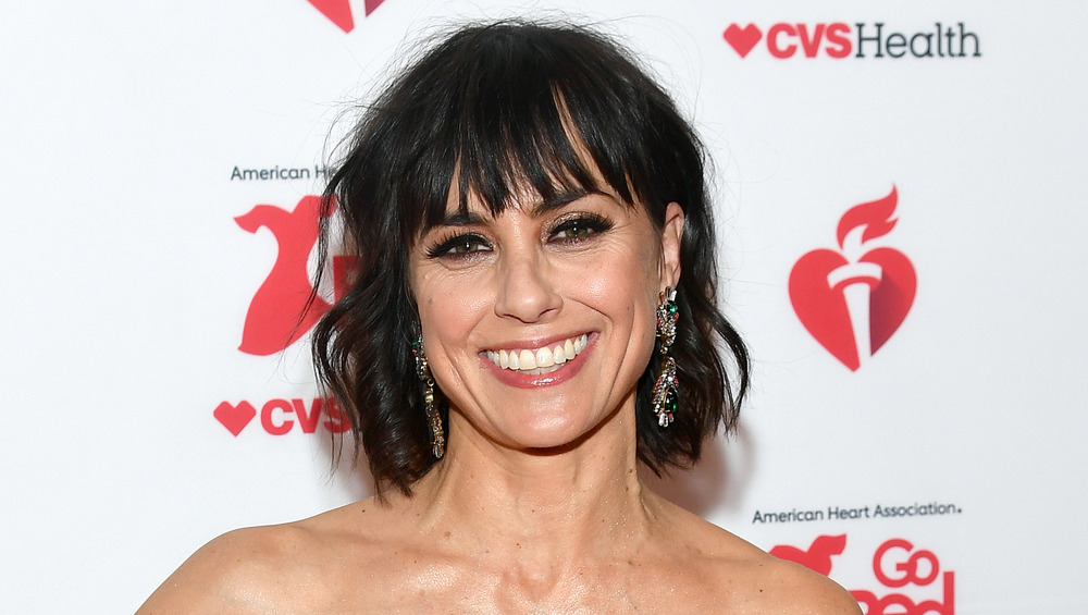 Constance Zimmer smiling