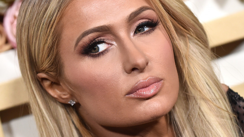 Paris Hilton on the red carpet