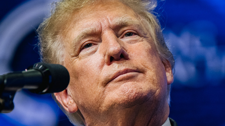 Donald Trump at an Arizona rally