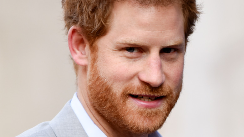 Prince Harry, facial hair, 2017 photo, looking kind of annoyed