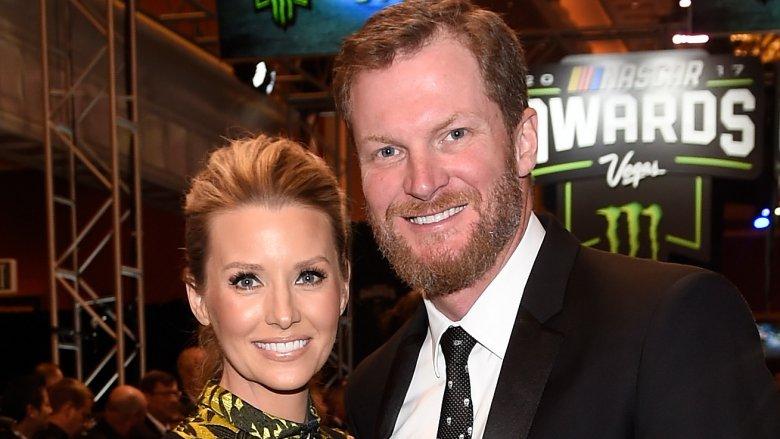 Dale Earnhardt Jr. and Amy Earnhardt