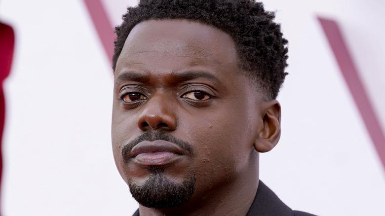 Daniel Kaluuya Oscars red carpet