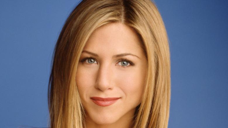 Jennifer Aniston smirking