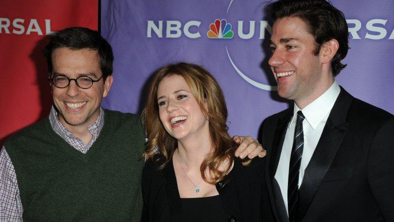 Ed Helms, Jenna Fischer, John Krasinski