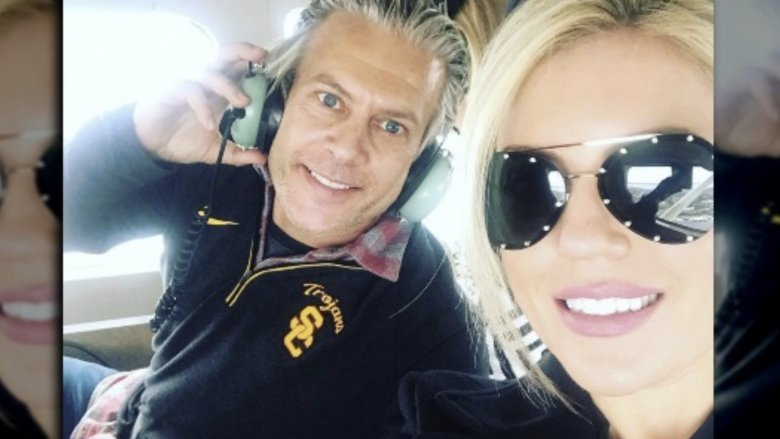 David Beador and girlfriend Lesley Cook